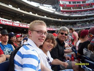 Lon & Boys at the game