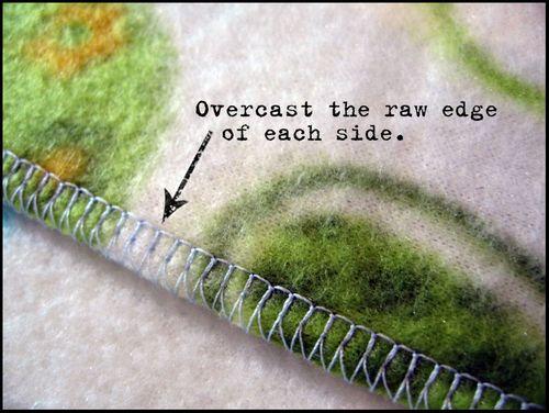 Overcast-stitch